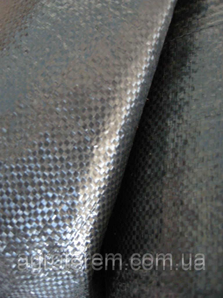 Агроткань, агротекстиль полипропиленовый черный 2х10м