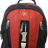 Рюкзак мужской городской с отделением для ноутбука, фото 4
