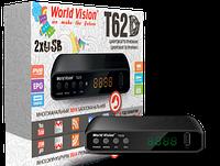 Цифровой Т2 тюнер WorldVision T62D+ Интернет+Youtube+ AC3+WiFi адаптер