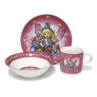 Набор посуды для девочки из керамики