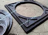 Плита пічна чавунна 410х410 мм. барбекю, казан, мангал, грубу, фото 5
