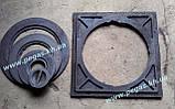 Плита пічна чавунна 410х410 мм. барбекю, казан, мангал, грубу, фото 6