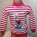 Детская одежда оптом широкий выбор.Кофта на девочку с микро начёсом 1,2,3,4 года, фото 2