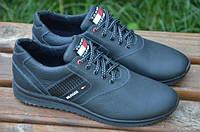 Мужские кожаные  спортивные туфли Tommy Hilfiger