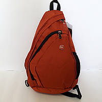 Рюкзак Swiss 1559 orange на одно плечо