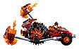 """Конструктор лего нексо Bela 10481 Nexo Knights """"Лавинный разрушитель Молтора"""", 198 дет, фото 4"""