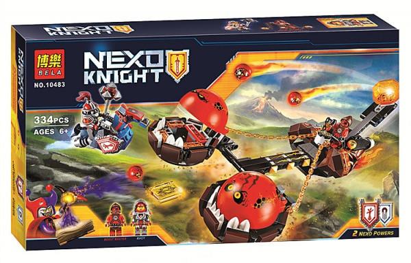"""Конструктор лего нексо Bela 10483 Nexo Knights """"Безумная колесница Укротителя"""", 334 дет"""
