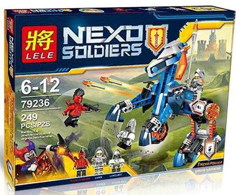"""Конструктор лего нексо Lele 79236 Nexo Knights (аналог Лего) """"Механический конь"""", 249 дет"""