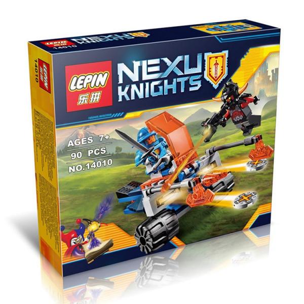 "Конструктор лего нексо Lepin 14010 Nexo Knight (аналог Лего) ""Королевский боевой бластер"", 90 дет"
