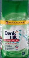 Пральний порошок для білої білизни DenkMit Vollwaschmittel mit Aktiv-Schutz, 40 Wl 2,7кг