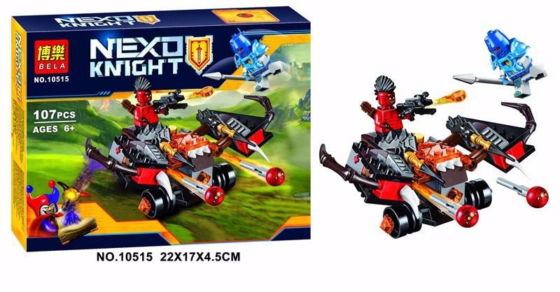 """Конструктор лего нексо Bela 10515 Nexo Knights (аналог Lego 70318) """"Глобострел"""", 107 дет"""