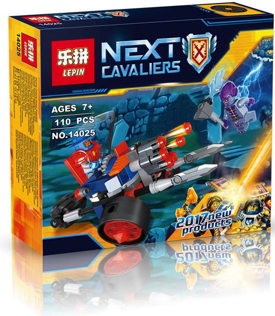"""Конструктор лего нексо Lepin 14025 Nexo Knight """"Самоходная артиллерийская установка"""", 110 дет"""