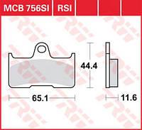 Тормозные колодки LUCAS MCB756SI