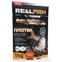 Прикормка рыболовная Real Fish  Плотва  Мигдаль-Ваниль