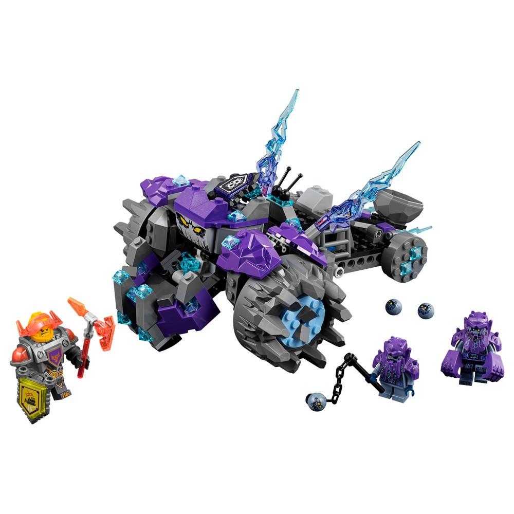 "Конструктор лего нексо Lepin 14028 Nexo Knight (аналог Lego 70350) ""Три брата"", 291 дет"