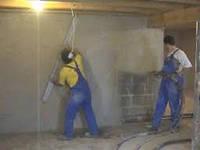 Демонтаж цементной стяжки. Демонтаж бетонных перегородок. Демонтаж гипсокартона. Демонтаж бетонных перекрытий
