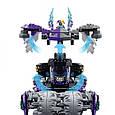 "Конструктор лего нексо Bela 10597 Nexo Knight (аналог Lego 70352) ""Штаб Джестро"", 878 дет, фото 3"
