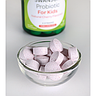 Swanson  Probiotic for Kids Natural Cherry Flavored жевательные таблетки пробиотик для детей 3 млрд КОЕ 60 таб, фото 2
