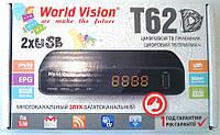 Т2 ресивер тюнер T2 World Vision T62D+ DOLBY+ кинотеатр MEGAGO