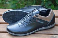 Мужские туфли спорт Columbia черные