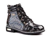 Демисезонная обувь оптом. Ботиночки для девочек оптом от производителя EEBB W553 black (8 пар, 27-32)