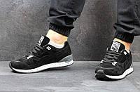 Кроссовки Puma мужские, замшевые, черно-белые