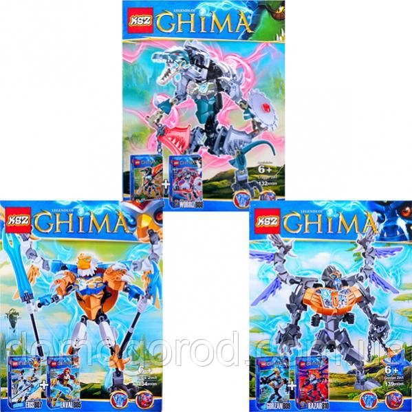 Конструктор CHIMA 811–813