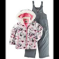 Зимний комбинезон для девочки OshKosh с цветами, Размер 2T, Размер 2T