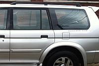 крышка бензобака Mitsubishi Pajero Sport