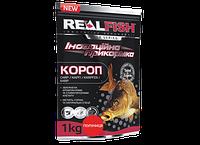 Прикормка рыболовная Real Fish  Короп Клубника