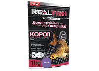 Прикормка рыболовная Real Fish  Короп Мидия