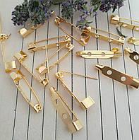 Шпилька, золото, 25х5 мм, 10 шт/упаковка