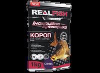 Прикормка рыболовная Real Fish  Короп Слива