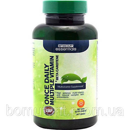 Once Daily Multiple Vitamin 60 таб Betancourt nutrition
