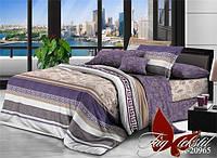 Двуспальный комплект постельного белья ранфорс R20965 с комп. ТM TAG