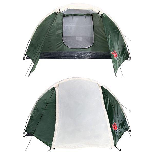 Туристическая палатка Bestway 67171 с тамбуром 4-х местная. 2-х слойная