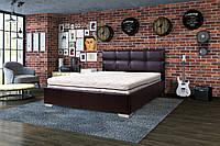 Кровать Лорд, 90х200, МДФ, Кожзам