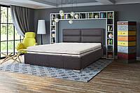 Кровать Сити, 140х200, МДФ, Кожзам