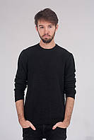 Стильный мужской джемпер чёрного цвета