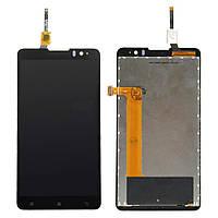 Дисплей Lenovo S8 S898 леново с тачскрином в сборе, цвет черный