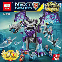 Конструктор Lepin 14036 Каменный великан-разрушитель - аналог лего 70356 Нексо Найтс, 785 дет.