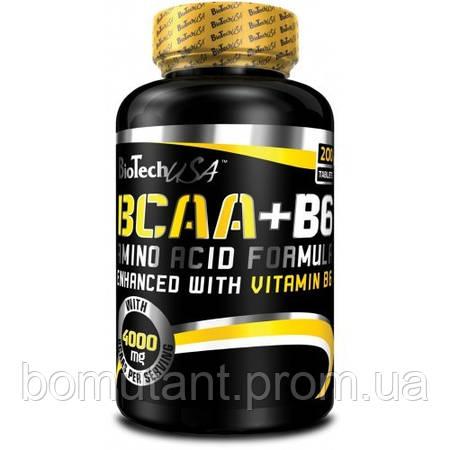 BCAA + B6 200 таб BioTech