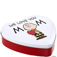 PEANUTS - Коробка для хранения в форме сердца