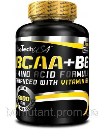 BCAA + B6 340 таб BioTech