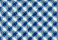 Ткань Клетка голубая 220 см