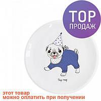 Детская тарелка Мопсик / посуда для детей