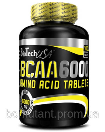 BCAA 6000 100 таб BioTech