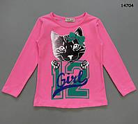 "Кофта ""Котик"" для девочки. 86-92 см, фото 1"