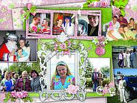 Фото-коллажи на юбилей поздравительные
