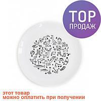 Детская тарелка Алфавит / посуда для детей